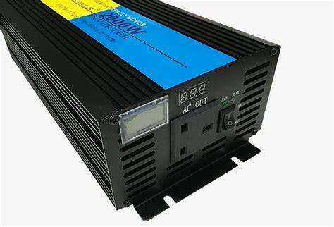 Power Inverter Charger 2000w Suoer 12v 220v 2000w Solar System Home lcd 4000w peak 2000w sine wave power inverter 12v dc to 220v ac ups charger ebay