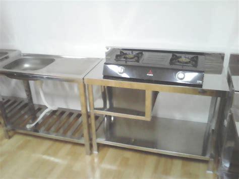 Meja Kayu Untuk Kompor jual meja bak cuci piring meja kompor dapur bak cuci