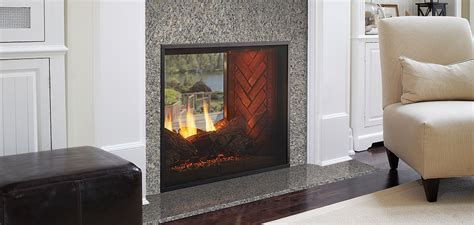 fortress see through gas fireplace harman stoves