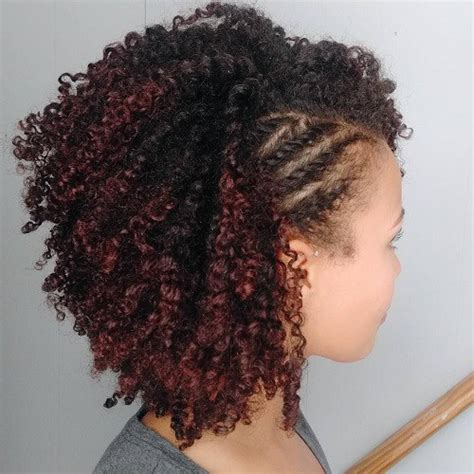 pushback braids plainting styles 75 most inspiring natural hairstyles for short hair in 2018