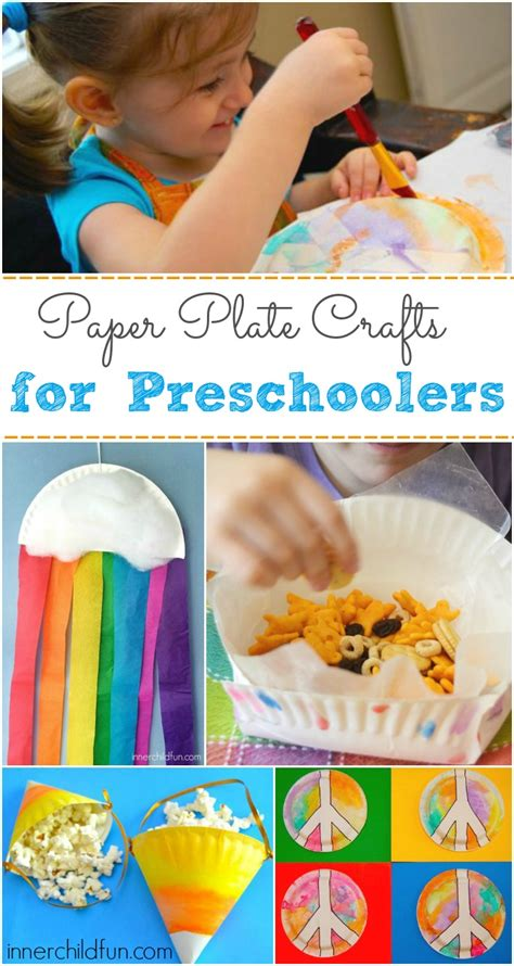 Paper Crafts For Preschoolers - paper plate crafts for preschoolers inner child