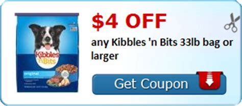 printable coupons and deals kibbles n bits dog food kibbles n bits coupon seriously free stuff