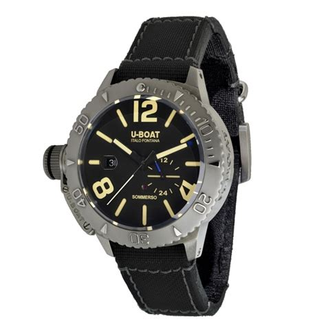 u boat watch stockists uk buy u boat 9007 sommerso 45 bk wristwatch