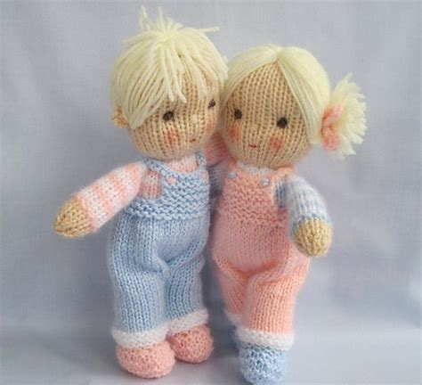 pattern for yarn doll jack and jill pattern by wendy phillips ravelry