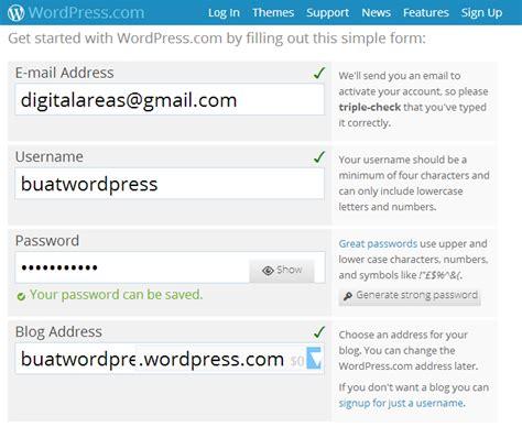 membuat blog di wordpress menarik cara membuat blog di wordpress rouens