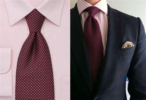 what color tie with pink shirt how to pair different ties with s shirts