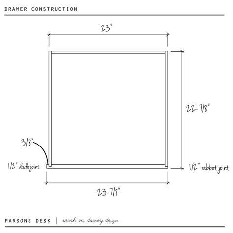 diy parsons desk m dorsey designs diy parsons desk tutorial