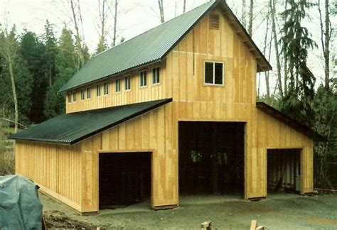 two story pole barn l seven construction 1 llc two story garages shops