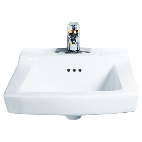 wall mounted commercial sink faucet comrade wall mounted sink american standard