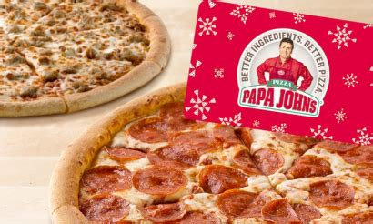 Groupon Papa John S Gift Card - buy a 25 papa john s gift card get two free large pizzas money saving mom 174