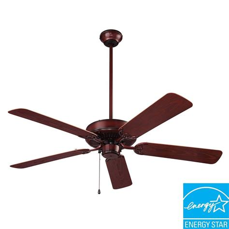 outdoor ceiling fans with lights wet rated nutone wet rated series 52 in outdoor weathered bronze