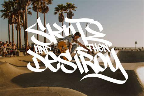 graffiti font street tag vol  tomatstudio
