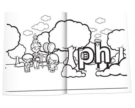 free coloring pages of split digraph a e