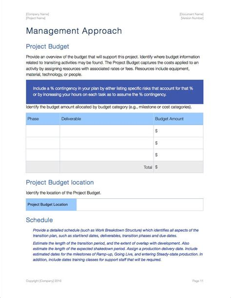 executive transition plan template transition plan apple iwork pages numbers