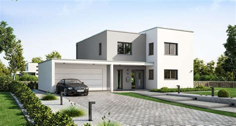 Musterhaus Mit Garage by Ihr Massivhaus Mit Garage Kern Haus