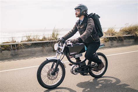 M E Bike by The Bolt M 1 Blends Motorcycle And E Bike In One Cool Package