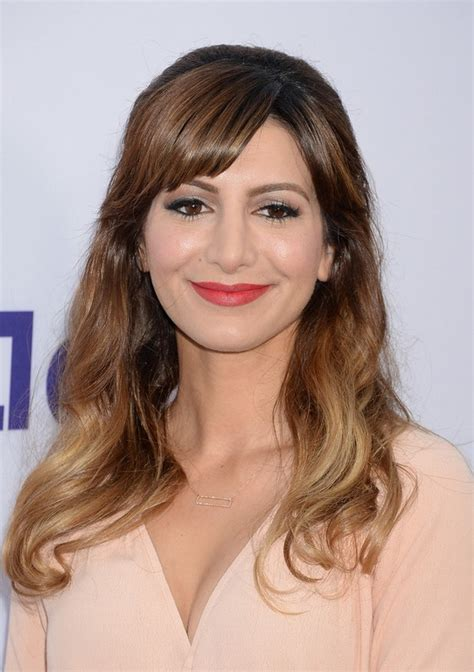 ombre half up half down hairstyles nasim pedrad ombre half up half down hairstyle with bangs