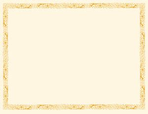 blank award certificate templates for word | printable
