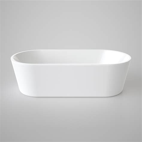 caroma aura freestanding bath 1800mm white bunnings