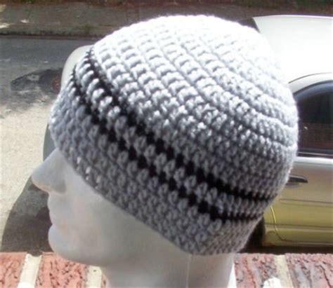 crochet pattern for zac brown beanie hand crochet men s skull cap beanie hat gray striped