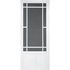 screen tight prairieview vinyl white screen door common