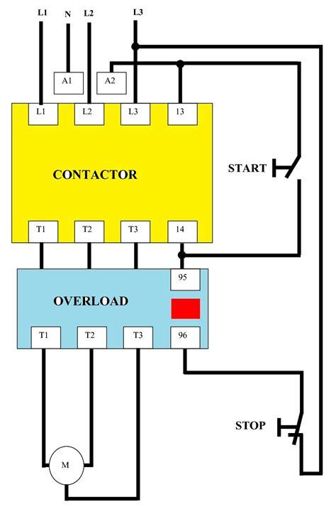 direct   dol wiring diagram   phase