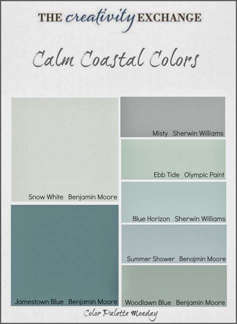 paint colors stylishbeachhome paint your home with coastal colors