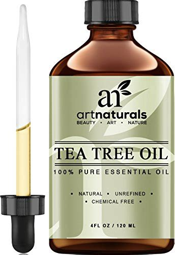 naturals tea tree essential 4 oz