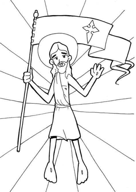 imagenes de jesus resucitado para colorear dibujos para catequesis jes 218 s resucitado