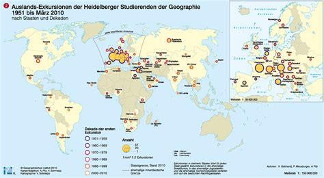 Uni Heidelberg Bewerbung Geographie Wissenschaftatlas Der Universit 228 T Heidelberg