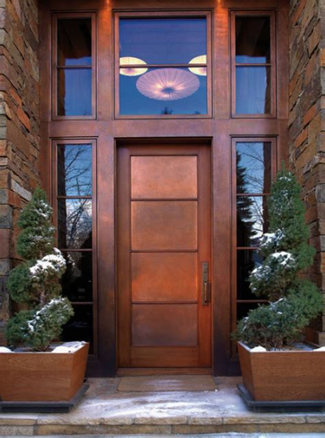 door modern designs modern home exteriors