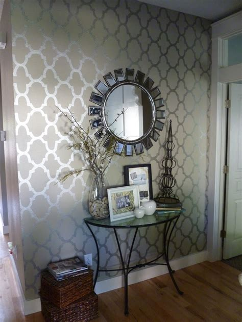 pinterest wallpaper accent wall love this wallpaper entry perhaps wall whimsy