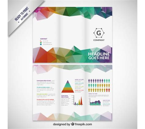 tri fold brochure template tri fold brochure background