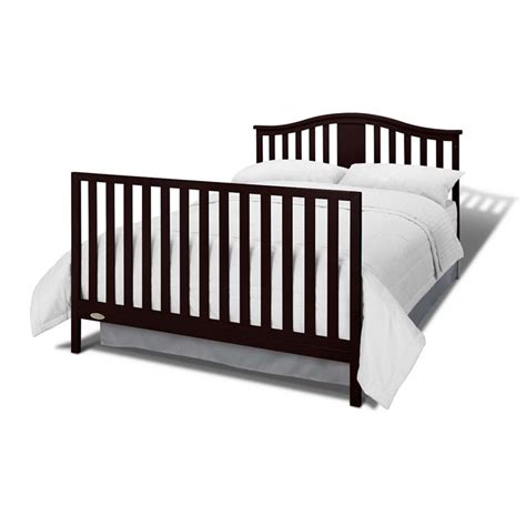 Convertible Cribs With Drawers Graco Solano 4 In 1 Convertible Crib With Drawer In Espresso 04521 339