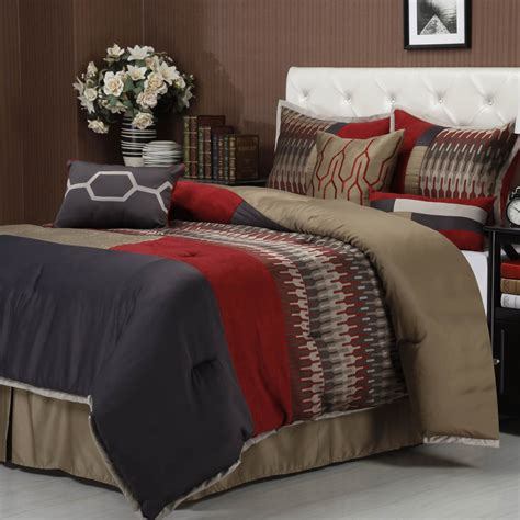 shop comforter sets nanshing america towers 7 pc bedding set bedding