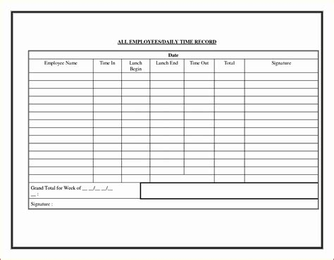 daily time card template excel 10 employee time card exceltemplates exceltemplates