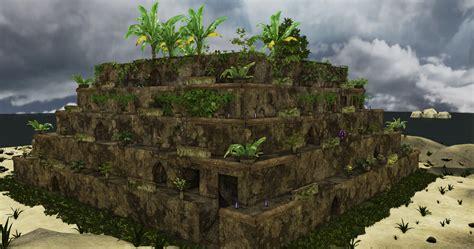 hanging gardens of babylon ruins