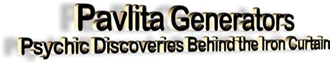 psychic discoveries behind the iron curtain pavlita generators psychic discoveries behind the iron