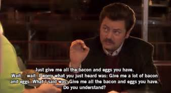 Ron Swanson Meme - parks and recreation 25 great ron swanson quotes ign
