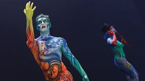 world bodypainting festival australia painted and at 15th world bodypainting