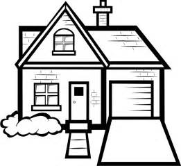 To color coloring pages houses house cartoon colouring house coloring