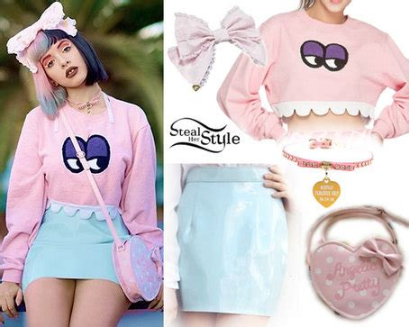 melanie martinez: monster sweatshirt outfit | steal her