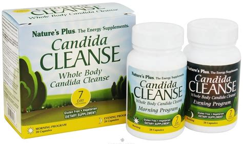 Sigmaceutical Candida Detox Warnings by Buy Nature S Plus Candida Cleanse 7 Day Program 56