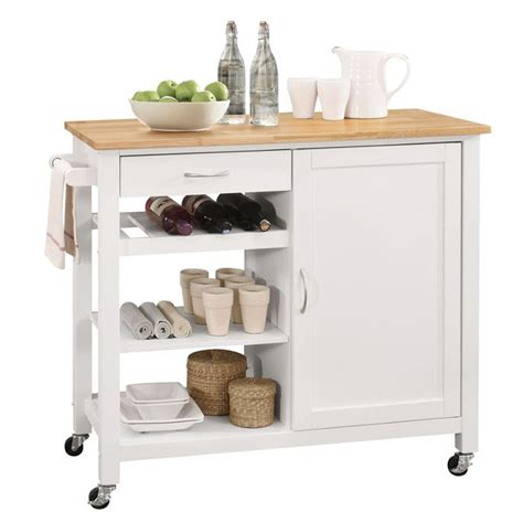 kitchen island ottawa acme ottawa kitchen island in and white 98315