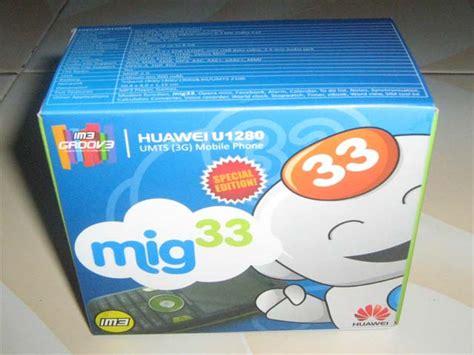 Handphone Huawei U1280 gorontalo utara mig33 migphone im3 groov3 huawei u1280 review s
