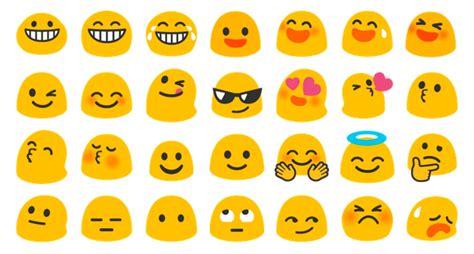 Emoji Adalah | perubahan emoji pada android nougat kentungweb