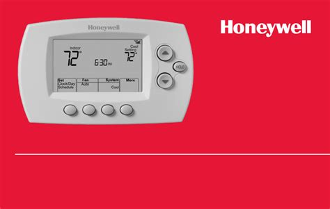 Honeywell Wifi Thermostat User Manual Pdf