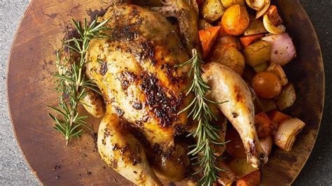 Knorr Paste Italian Herbs 1 5kg roast chicken with roasted medley root vegetables and