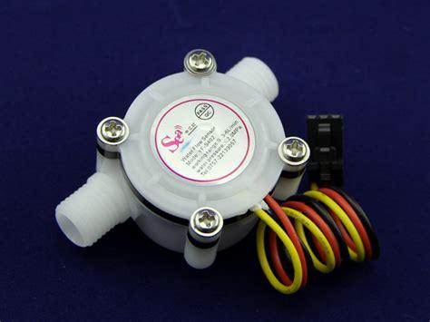 Waterflow Sensor 1 30l Min 2 0mpa Yf S201 g1 4 quot water flow sensor wiki