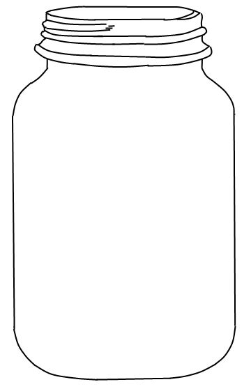 jar card template jar printable use to create fingerprint lightning